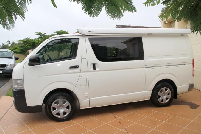 9d70c3ca265c48 ... Toyota Hiace TRH201R MY08 LWB WHITE (Camper Conversion) 4 Speed  Automatic Van 2008  22950